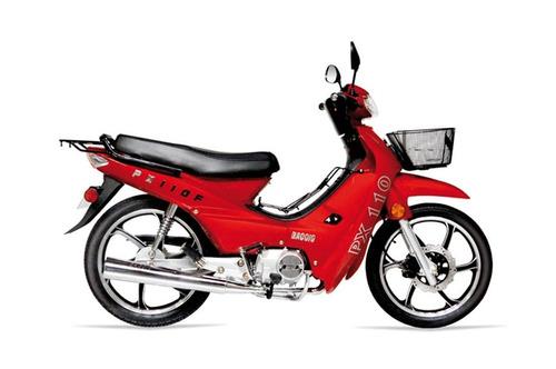 baccio pollerita px 110 f llantas de aleación delcar motos