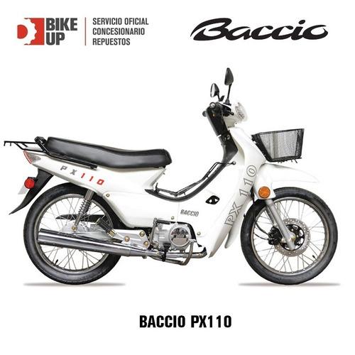 baccio px110 - 36 cuotas - tomamos permutas - bike up