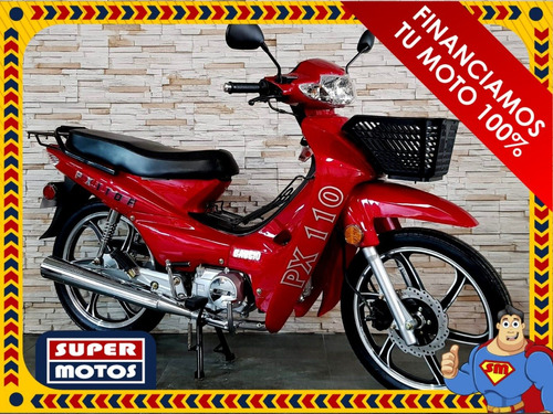 baccio px110 financiamos tu moto 100%