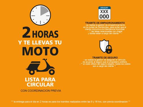 baccio trx 125 moto nueva 0km 2020 + obsequios fama