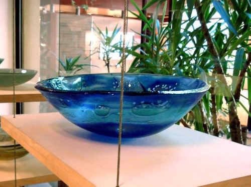 bachas de vidrio artesanales, piletas de vidrio,lavamanos