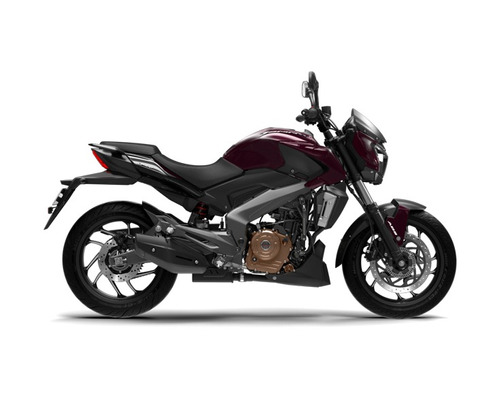 bajaj dominar 400 - inyeccion - abs blanco