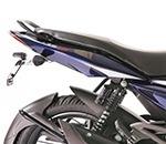 bajaj pulsar 135cc azul tomamos tu moto como parte del pago