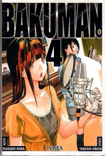 bakuman vol 4 / ohba - obata / ivrea