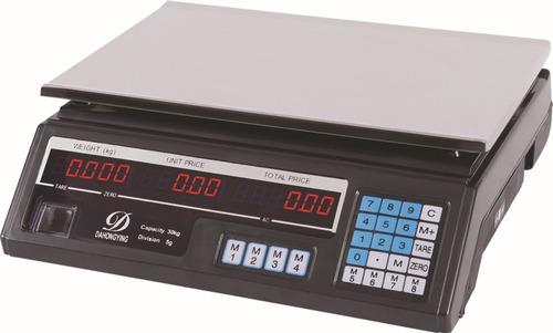 balanza digital recargable 30 kg + garantia + envio gratis!!