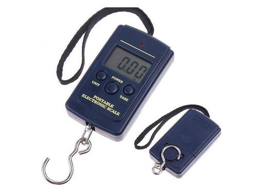 balanza portatil digital  para valijas o pesca