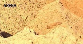 balastro pedregullo arena sucia arena terceada gravillìn
