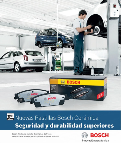 balatas bosch ceramicas maxima rogue x-trail sentra spec v