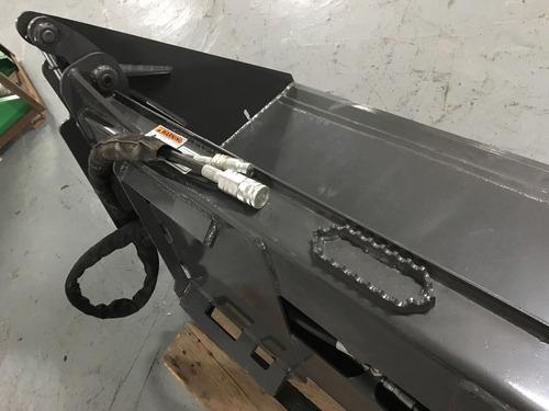 balde almeja - 4 en 1 para minicargadora, ancho  1.80 mts