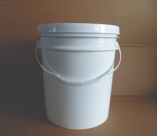 balde plastico envase 20 litros nuevos import bidon tarrina