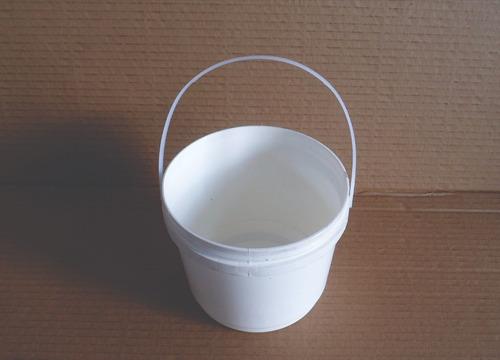 balde plastico envase pote 1,8 litros bidon tarrina