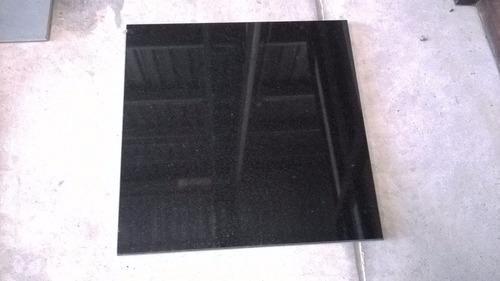 baldosas granito negro pulido 61 x 61 cm piso o pared