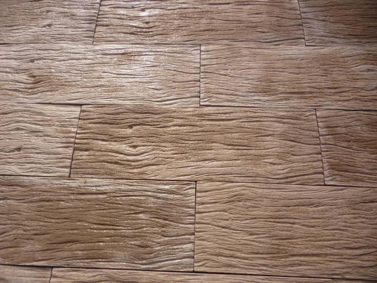 Baldosones de hormigon imitacion madera 55 00 en mercado libre - Baldosas imitacion parquet ...