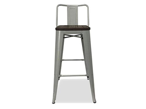 banco alto con respaldo taburete modelo tolix bar disershop