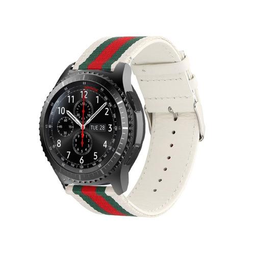 banda de reloj inteligente gear s3 frontier classic, corr