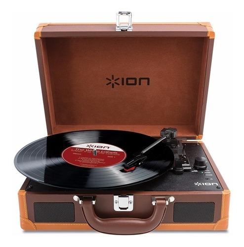 bandeja toca disco de vinilo ion vinyl motion deluxe