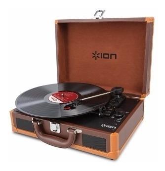 Bandeja Toca Disco De Vinilo Ion Vinyl Motion Deluxe U S