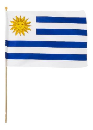 bandera banderín selección uruguay mundial celeste mvdsport