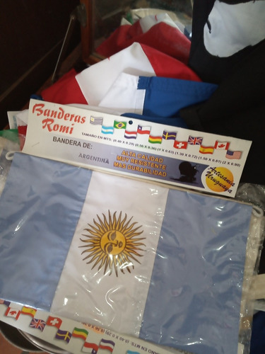 bandera de tela