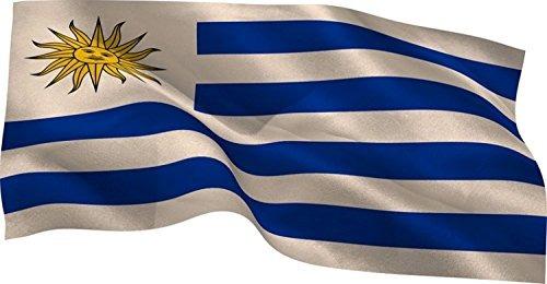 bandera de uruguay 90x60 al por mayor