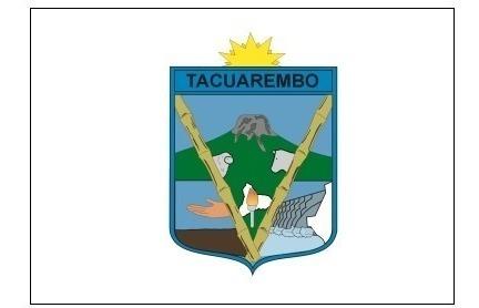 bandera departamento de tacuarembó uruguay - lámina 45x30 cm