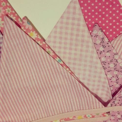 banderines tela guirnaldas decoración fiestas hogar
