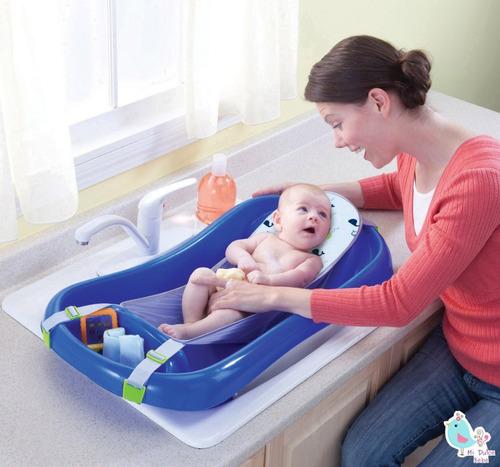 bañito para bebe recien nacido azul the first years y3155