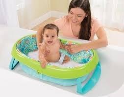 bañito plegable para bebe summer