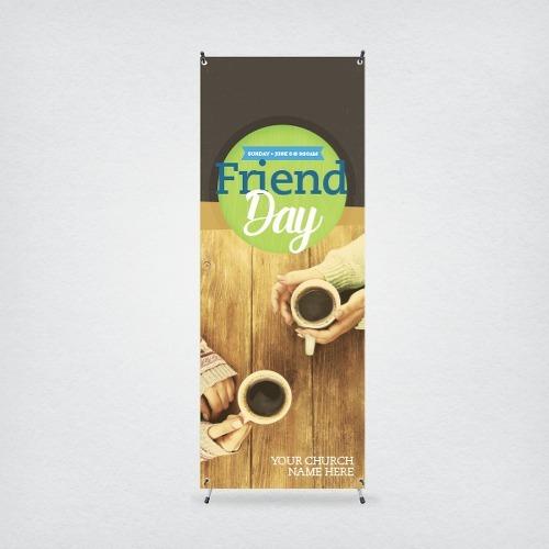 banners  para comercios y empresas con soporte 60x160