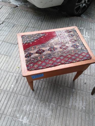 banqueta de cedro, antigua, con cajón, perfecto estado