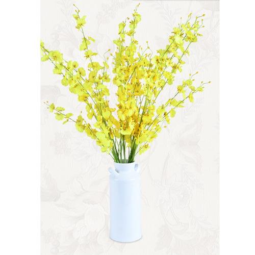 banquete boda seda decoracion hogar phalaenopsis artificial