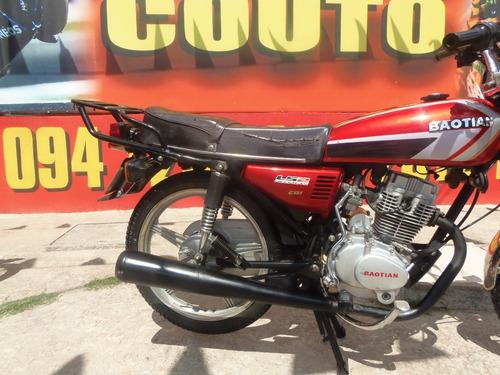 baotian 125 baccio classic zanella sapucai == motos couto
