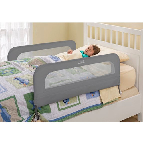 baranda doble para cama gris summer
