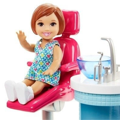 barbie profissoes medica dentista con unidade dhb63 - mattel
