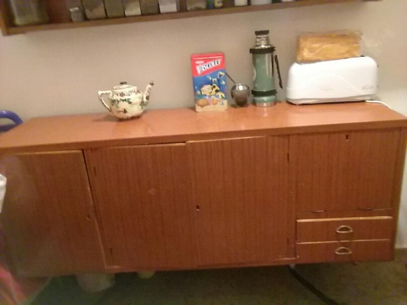 Bargueño De Carmica. Modular. Mueble Cocina - $ 900,00 en Mercado Libre