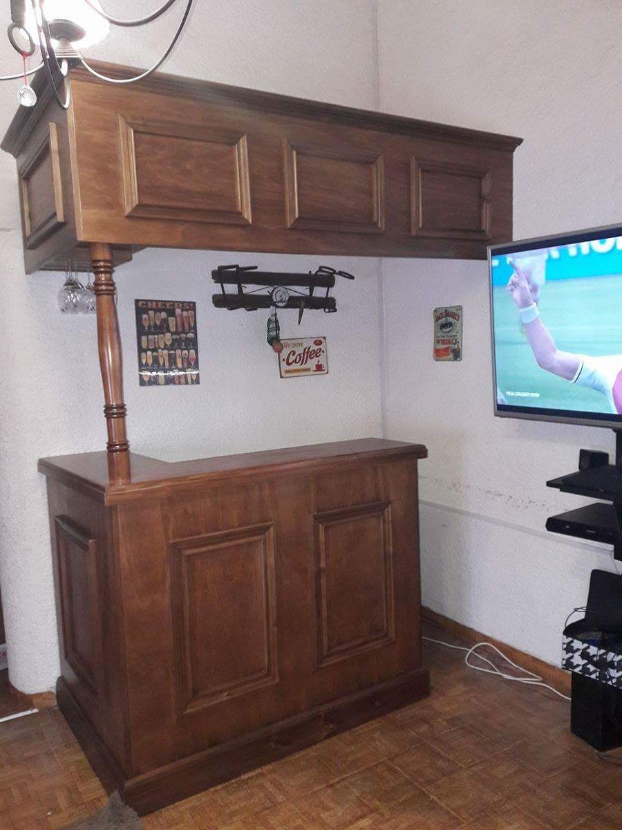 Barra bar de madera en mercado libre - Barra bar madera ...