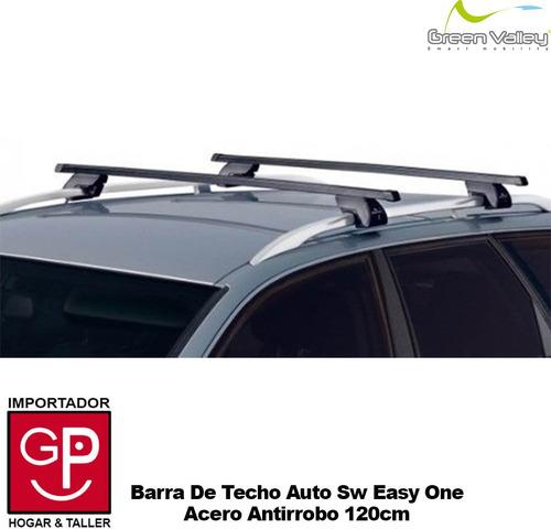 barra de techo auto sw easy one acero antirrobo 120cm