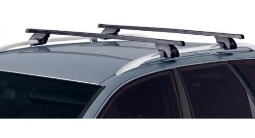 barra de techo auto sw easy one aluminio antirrobo 135 cm