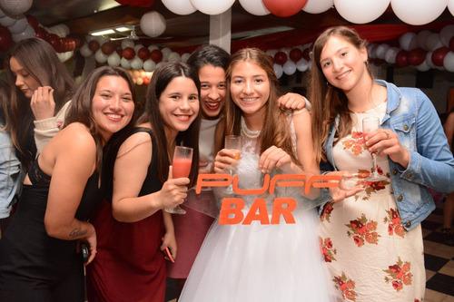barra de tragos 15 @ños movil casamiento wpp 24hs 097091318