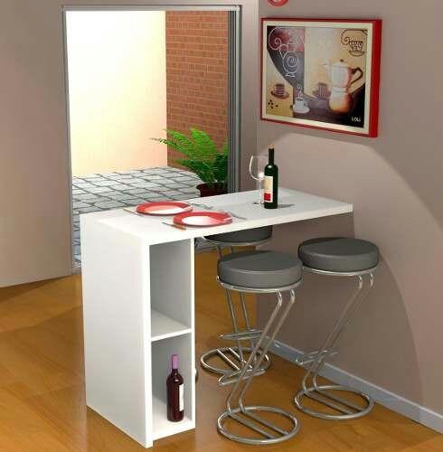 Barra desayunador para cocina sin bancos en mercado libre - Mesa barra cocina ...