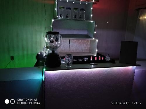 barra movil splash /  eventos