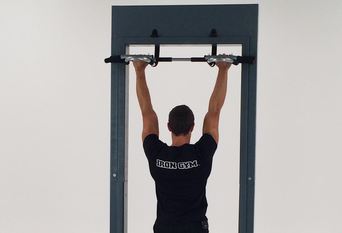 como hacer barras para ejercicio en casa