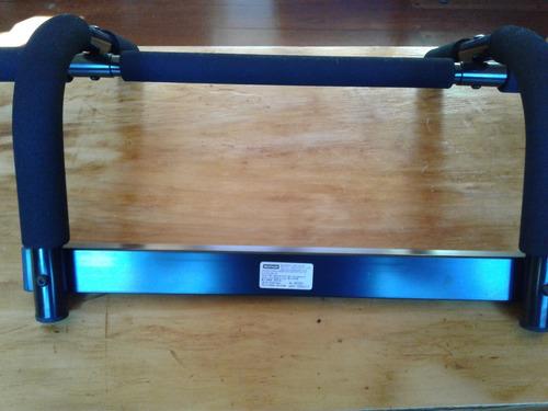 barra para dominadas, como nuevo, para puerta