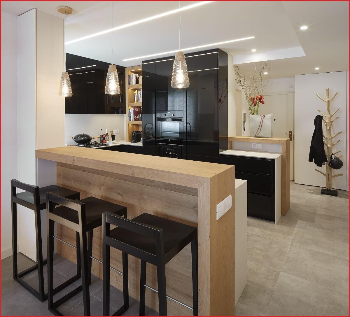 Barras de cocina desayunadores dise o a medida for Cocinas integrales modernas con barra