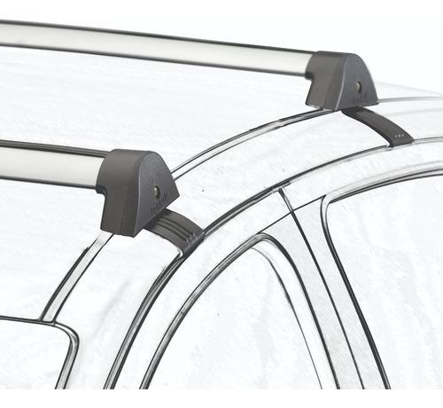 barras de techo citroen c3 4p 2004-12 aluminio negras