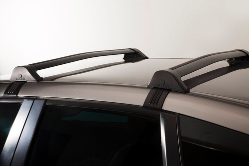 barras de techo volkswagen gol g4 aluminio negras