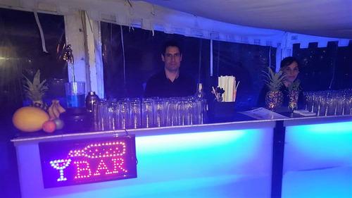 barras móviles para todo tipo de fiestas y eventos