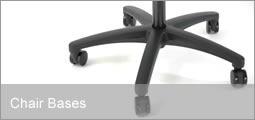 base reforzada c/ruedas /repuestos sillas/sillones oficina