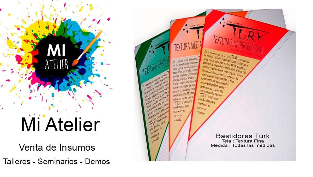 Bastidores Turk 30 X 40 - Mi Atelier - $ 210,00 en Mercado Libre