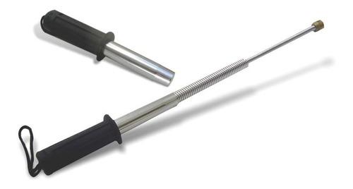 bastón de defensa cachiporra flexible telescópica